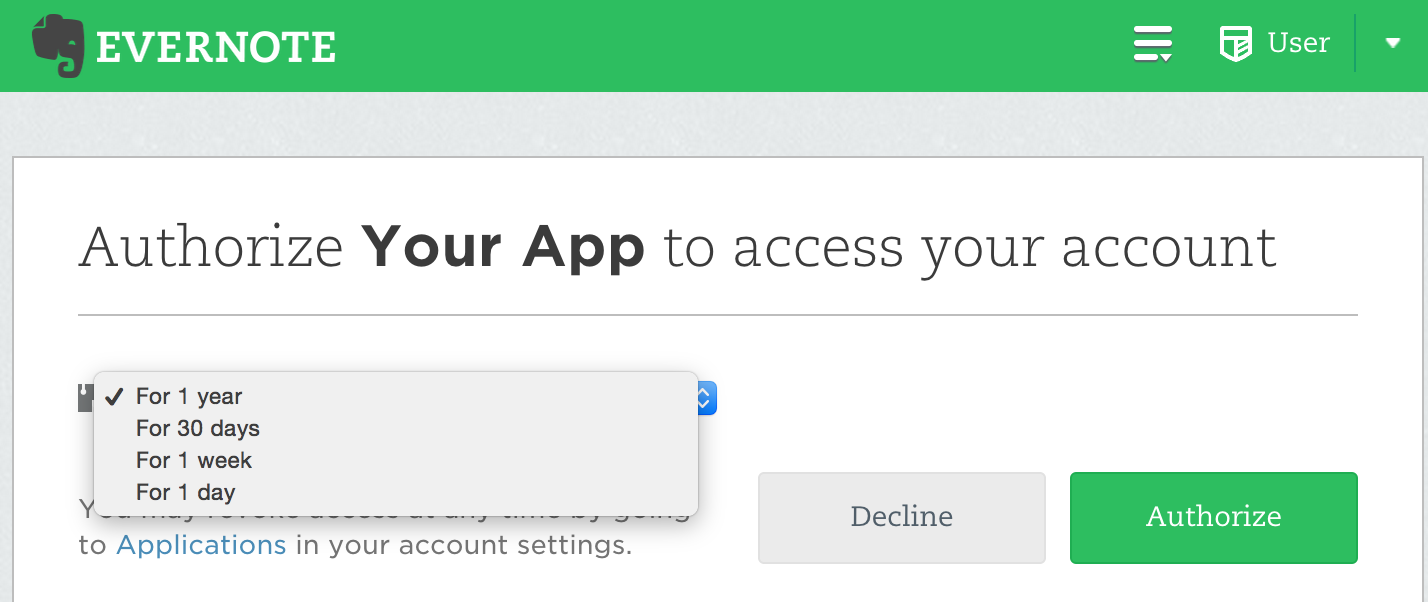 Handling Revoked or Expired Authentication Tokens - Evernote